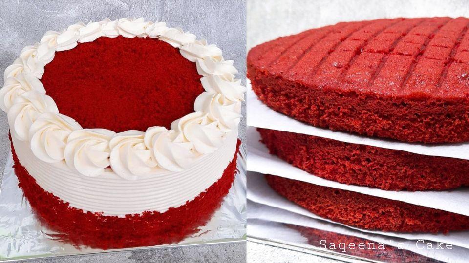RED VELVET CAKE by Khardina Farahmita