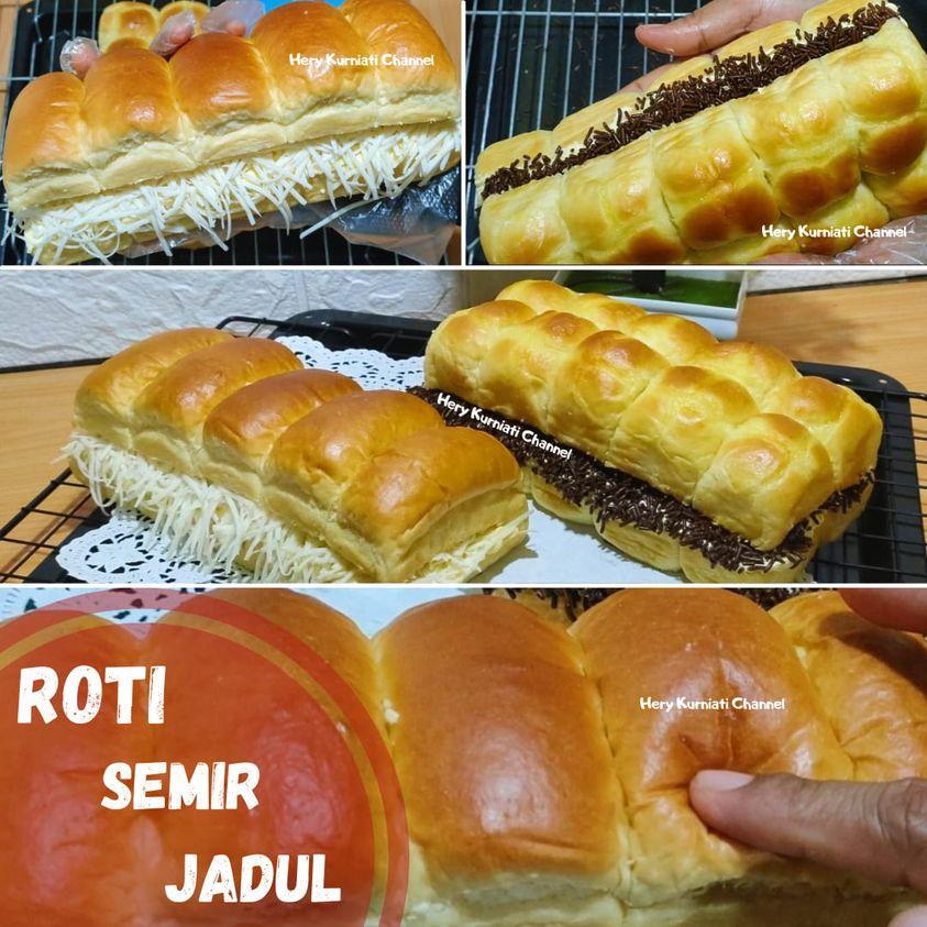 lembut dan enak banget Resep Roti Semir isi Meses keju by Hery Kurniati