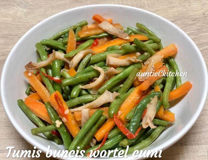 Tumis buncis wortel cumi by AuntieCkitchen