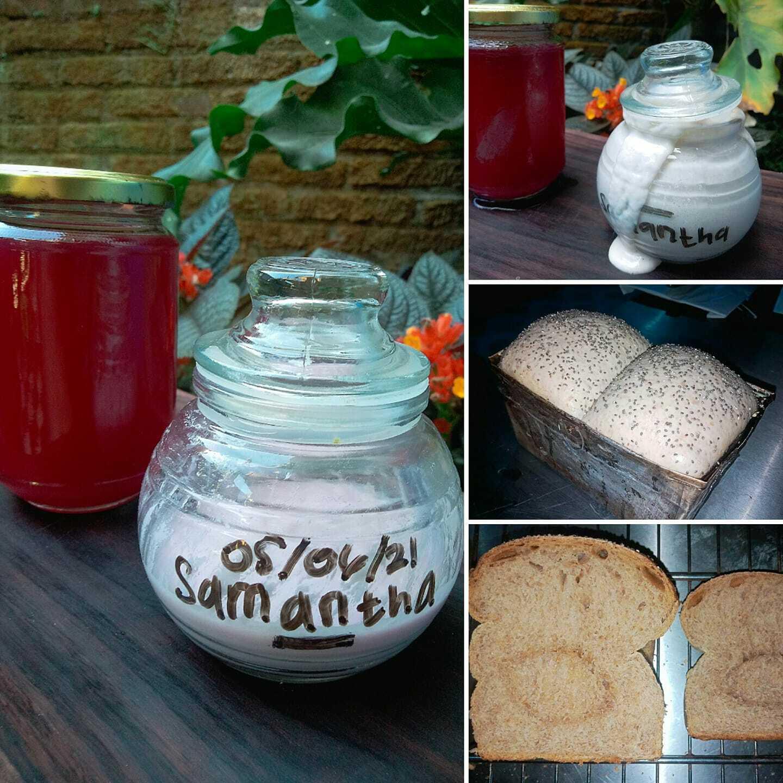 Vegan whole wheat bread by Dodik Aprianto