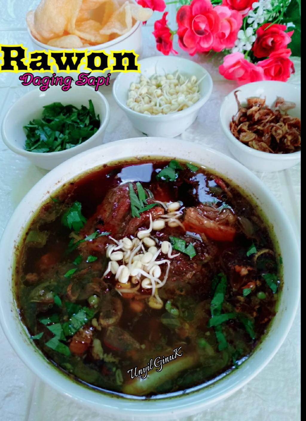 Rasanya mantul RAWON DAGING SAPI by Annansya Aina 1