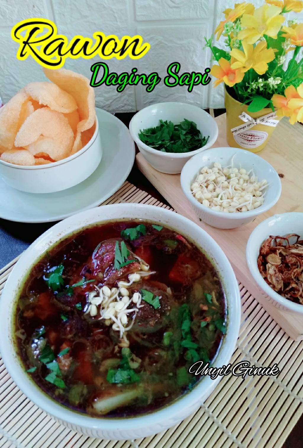 Rasanya mantul RAWON DAGING SAPI by Annansya Aina 3