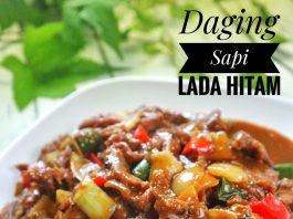 menu favorit keluarga di rumah daging sapi lada hitam by Hilda Daeng Shulo