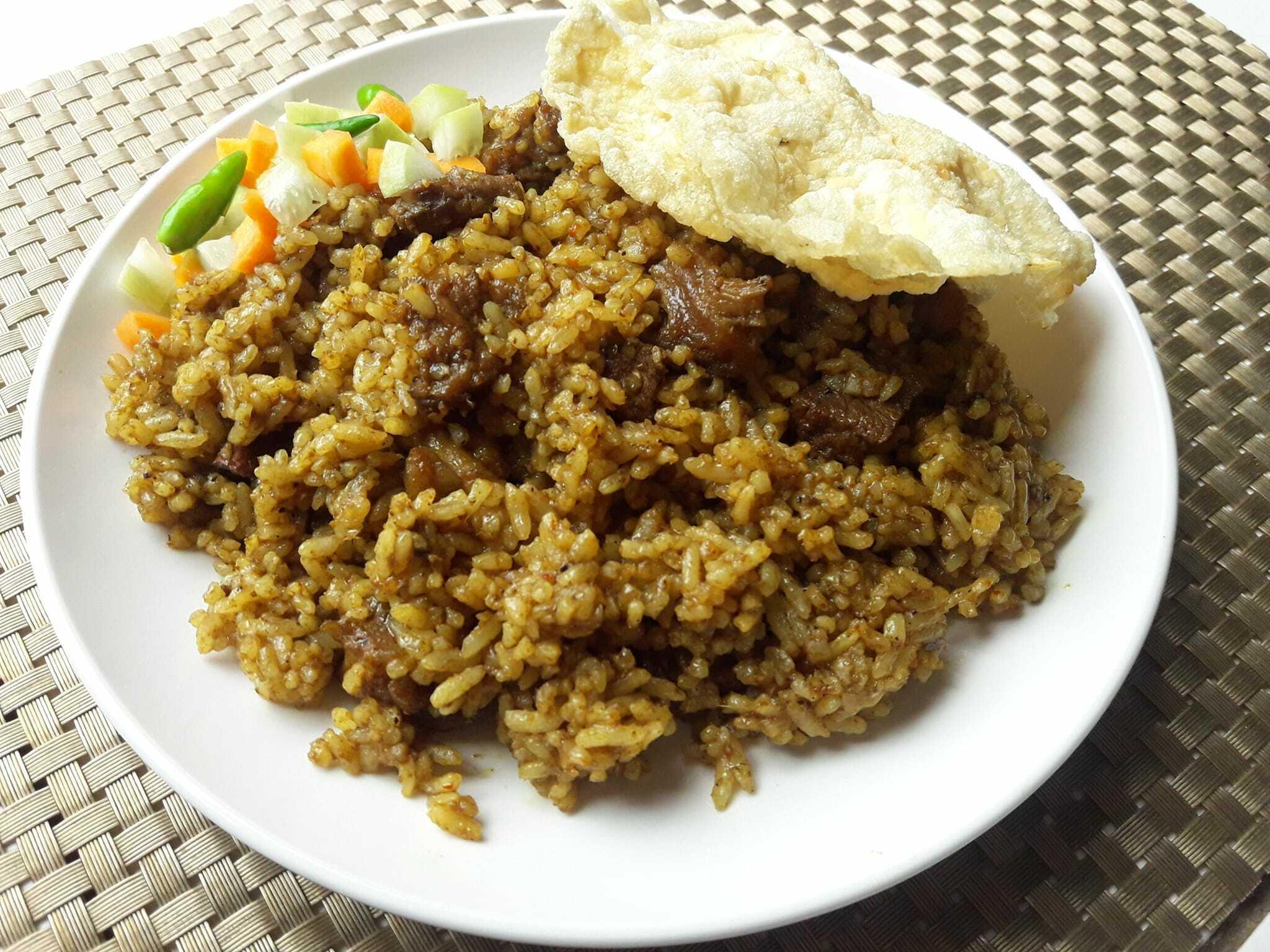 resep Nasi Goreng Kambing ala Kebon Sirih by Nia Nopralena