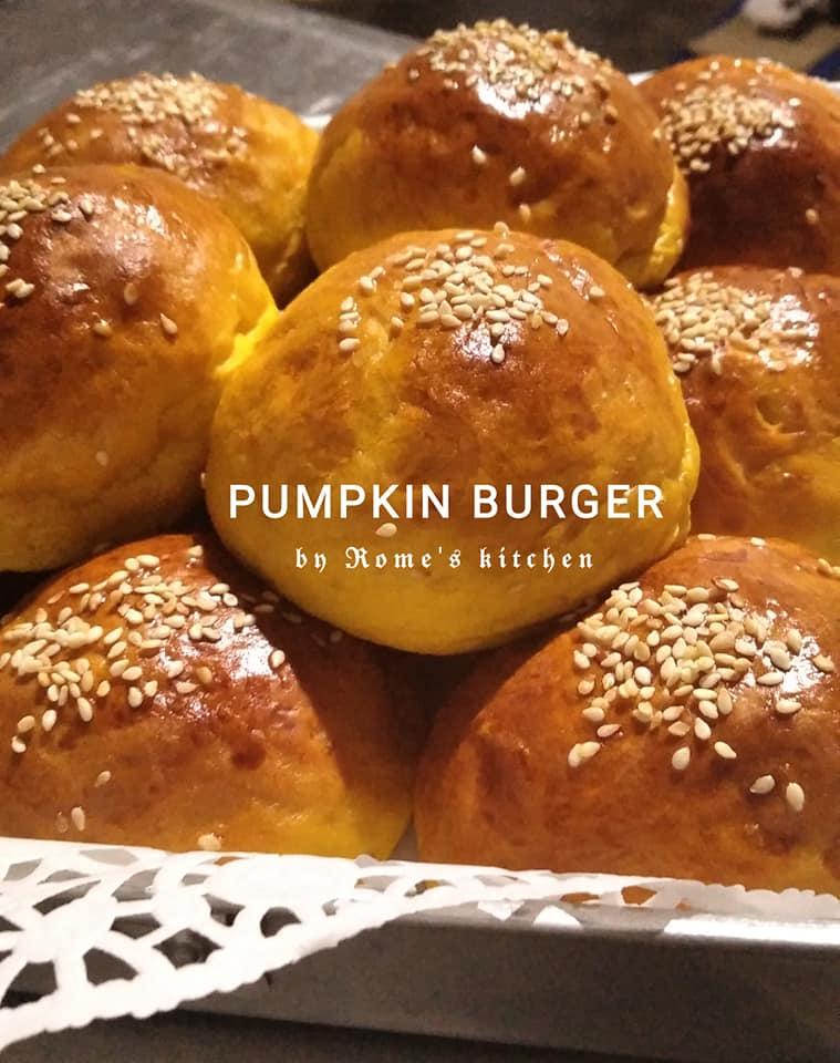 resep base pumpkin burger sederhana by Rome Widodo 1