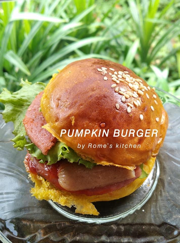 resep base pumpkin burger sederhana by Rome Widodo 2