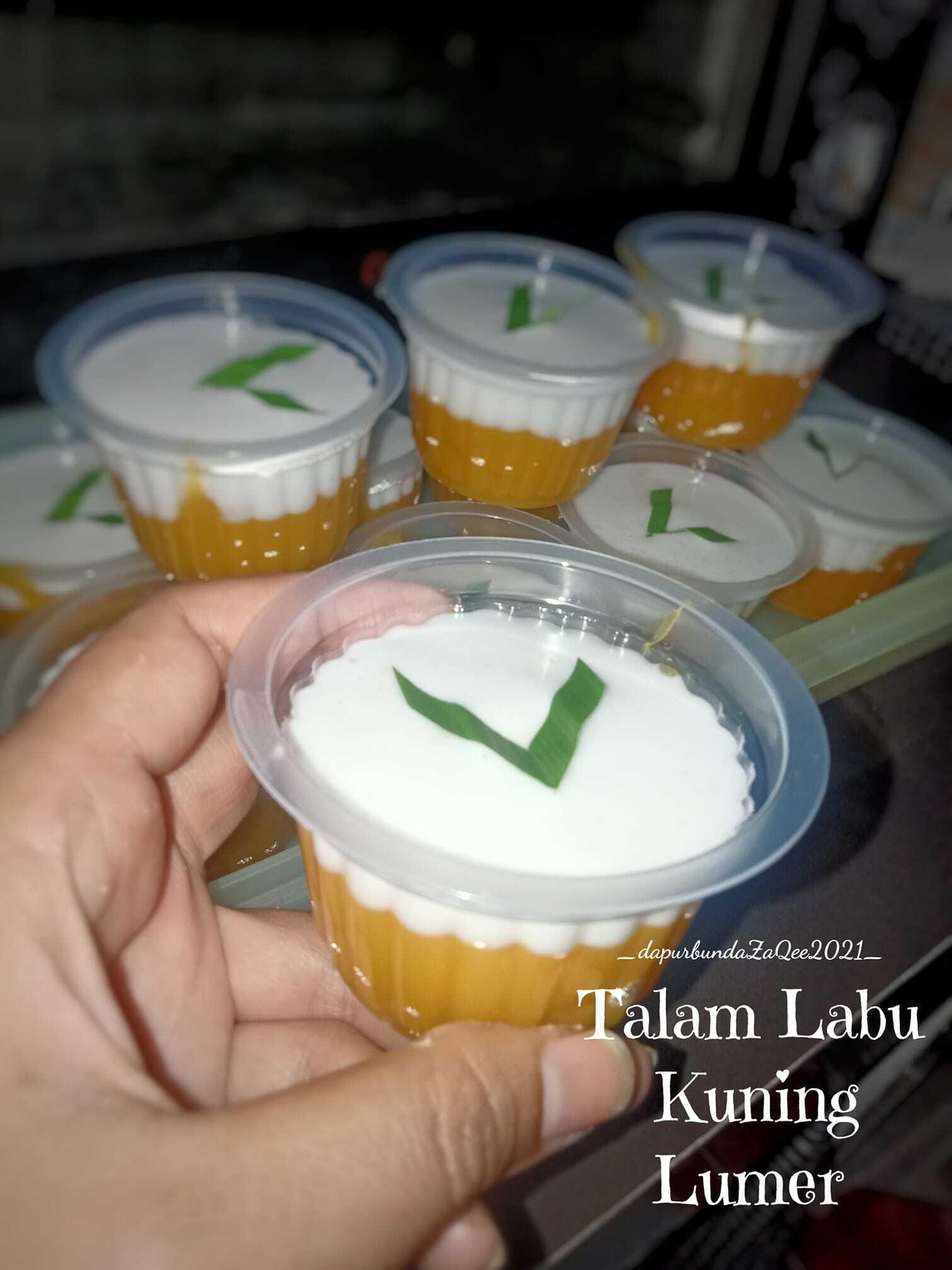 Talam Labu kuning lumer by Weni Erwiningtyas