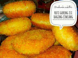 camilan praktis roti goreng isi daging cincang by Endang