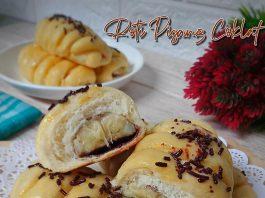 ini lembut banget Roti Pisang Coklat by Ismy Maulidasary